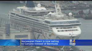 florence forecast forces cruise ship to sail to maine canada instead of bermuda cbs boston boston news sports weather traffic and boston s best