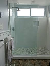 custom glass spray panels splash guards and fixed panel shower units bathroom