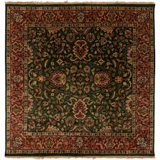 artistic weavers ardashir dark forest green 8 ft x 8 ft square area rug