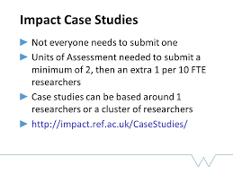 How much was an impact case study worth in the UK Research Excellence  Framework  YouTube