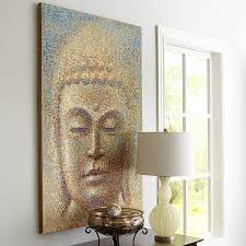 Buddhist Home Decor Wall Art Religion Buddha Oil Painting On Canvas Modern Fashion 1 4 No