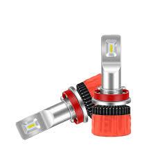 Small Bulb Light Kit Us 30 88 Free Shipping Ultra Small High Power 55w H4 Led Car Headlight Imported Lamp Beads H4 Hi Lo Led Bulb Light 12v 55w 6000k Led Kits In Car
