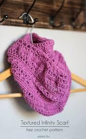 Free Infinity Scarf Crochet Pattern Impressive Textured Infinity Scarf Pattern Persia Lou
