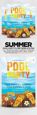 Beach Flyer 108 Best Beach Party Flyers Images Party Flyer Advertising Flyer