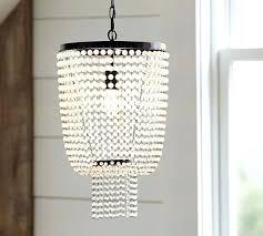 chandeliers pottery barn beaded chandelier lighting chandeliers pendants and francesca