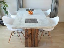 View in gallery DIY Concrete Dining Table