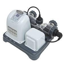 salt water pool systems. Intex 120V Krystal Clear Saltwater System Salt Water Pool Systems S