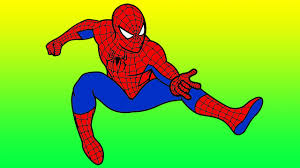spiderman to color.  Color Marvel Spiderman Coloring For Kids Baby To Color S
