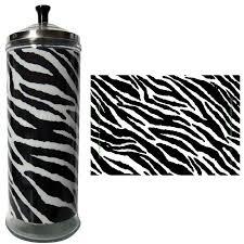 Barbicide Jar Decorative Salon Skins Zebra Decorative Barbicide Jar Wrap BigDaddyBeauty 21