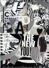 ... black and white collage | by Shauna Haider