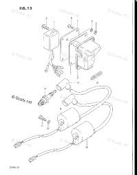 Suzuki outboard by year 1983 oem parts diagram for ignition boats