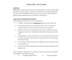 New Works Cited Page Template Mla Format 8th Edition