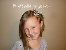 Ribbon Lacing For Short Hair Hairstyles For Girls Princess