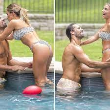 Wife Jessie James In Cheetah Bikini