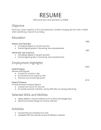 How To Create Resume For Job Resume For Job Easy Resume Examples Com