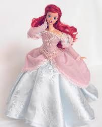 Ariel pink dress ...