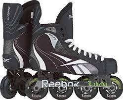 Amazon Com Reebok 3k Kids Inline Hockey Skates 5 0
