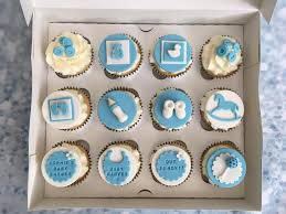 Baby Shower Boy Cupcakes Cake Creations
