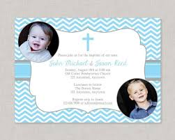 Twin Baptism Invitations Baptism Invitations Boy Twin Baptism Invitation Sibling Baptism