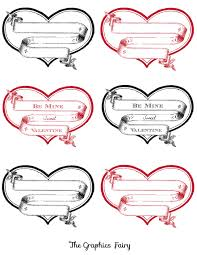 free printable heart labels printable hearts free printable and