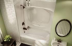 Multi Piece Tub Shower 34Acrylic Shower Tub Combo