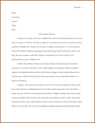 example of a mla essay sample essay paper critical review sample  example