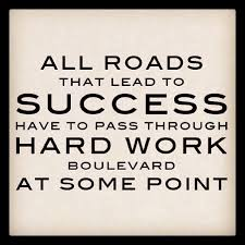 Quote Of The Week For Work Beauteous Positive QuoteS Of The DayWeekMonthYear WORK HARD The