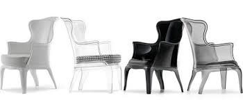 clear plastic wing chair acrylic furniture uk