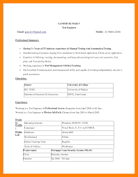 Teacher Resume Templates Microsoft Word 2007 Teachers Resume Simple