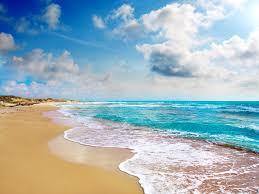 Wallpaper Tropical landscape, beach ...