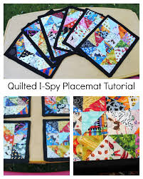 Quilted Placemat Patterns New Decorating Design