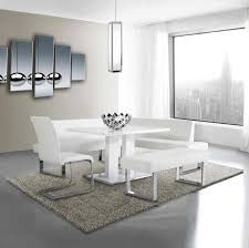 white modern dining chairs. camellia corner dining set aa01 white modern chairs r