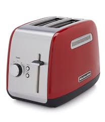 kitchenaid 2 slice toaster with manual lift lever
