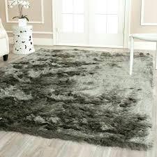 get ations a silken titanium grey rug 4 x fluffy target