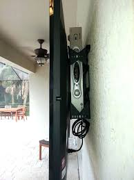 how to hide cable box when mounting a tv on the wall how to mount your outside and hide the cable box and wires behind it put cable box wall mounted tv