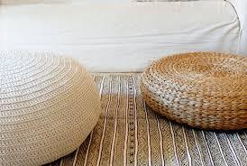 Rattan Floor Cushion Zest Event Design