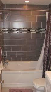 fancy bathroom interior design with tile bath surround cool ideas for bathroom decoration using dark