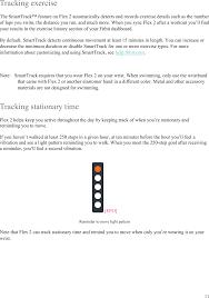 Fb403 Wireless Fitness Tracker User Manual Fitbit