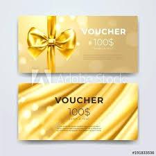 Gift Card Design Template Voucher Set Of Premium Promotional
