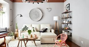 Pottery Barn For Living Room A Lonny Editors Small Space Makeover With Pottery Barn Small