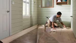 install sheet vinyl flooring