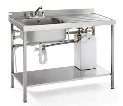 portable heated self contained washing up sink drainer unit vwhb qfsink
