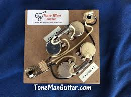 guitar tone improvement vintage 50s tone tone man guitar gibson sg wiring kit at Sg Wiring Harness