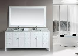 white finish design element 78 london double sink bathroom vanity