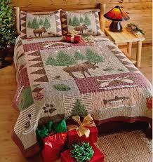 Lodge Quilt Set & Moose Lodge Quilt Set Adamdwight.com