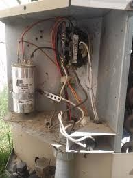 condenser thermostat wiring manual guide wiring diagram \u2022 goodman ac unit thermostat wiring thermostat wire to condenser unit where hvac diy chatroom home rh diychatroom com condenser fan wiring ac condenser thermostat wiring