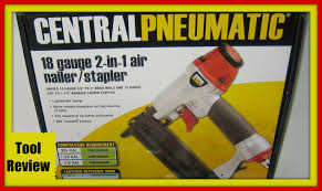 tool review for harbor freight pneumatic nail