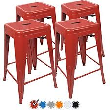 red counter height stools.  Counter UrbanMod 24 Inch Bar Stools For Kitchen Counter Height Indoor Outdoor  Metal Set Of For Red Height C