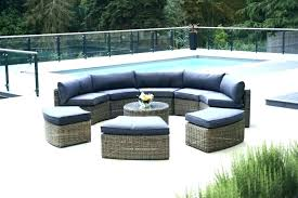 curved outdoor seating modular furniture patio deep seat cushions clearance uk