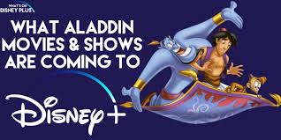 What Aladdin Movies & Shows Are Coming To Disney+ ? | What